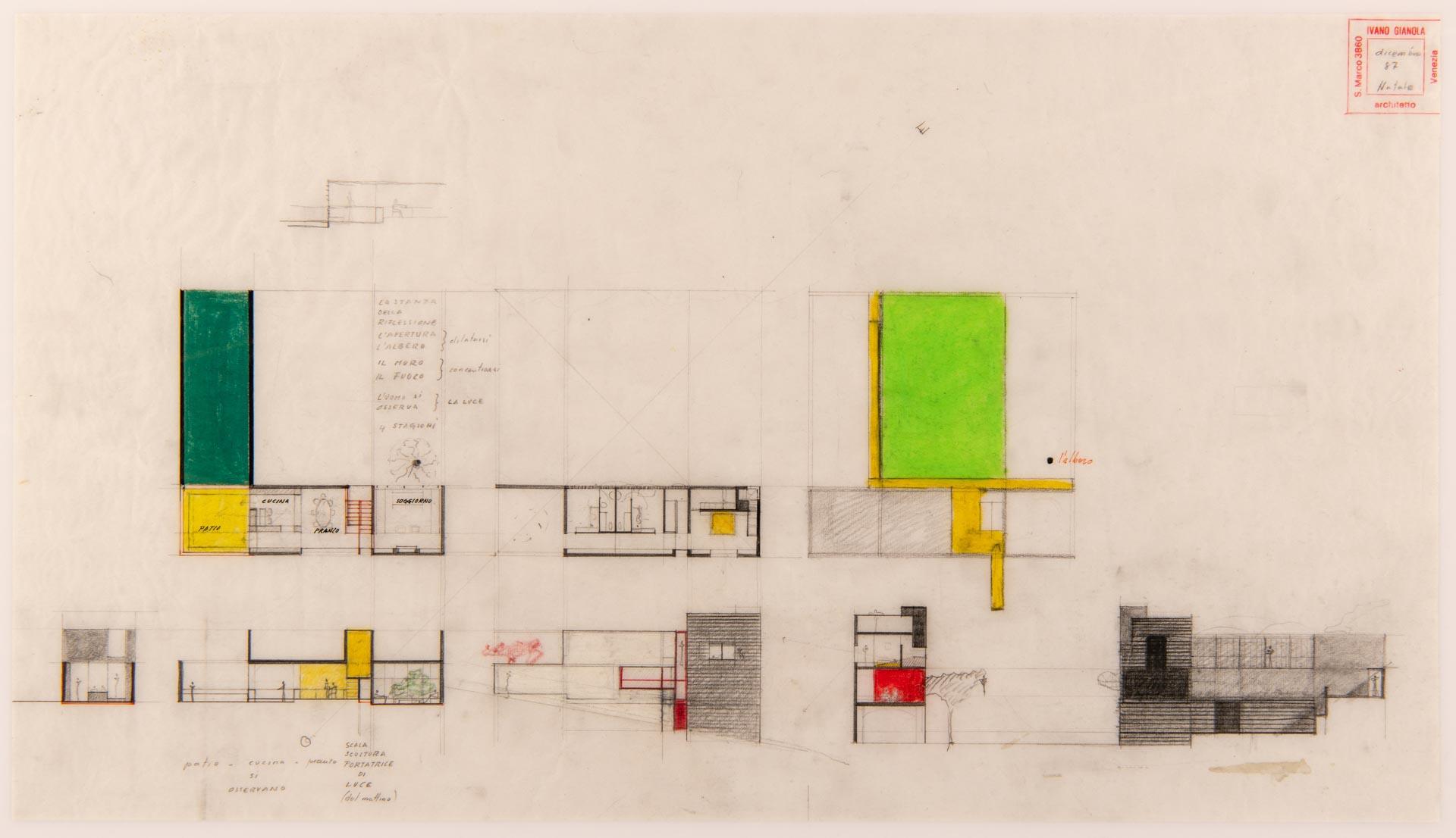 disegni Architetto Ivano Gianola