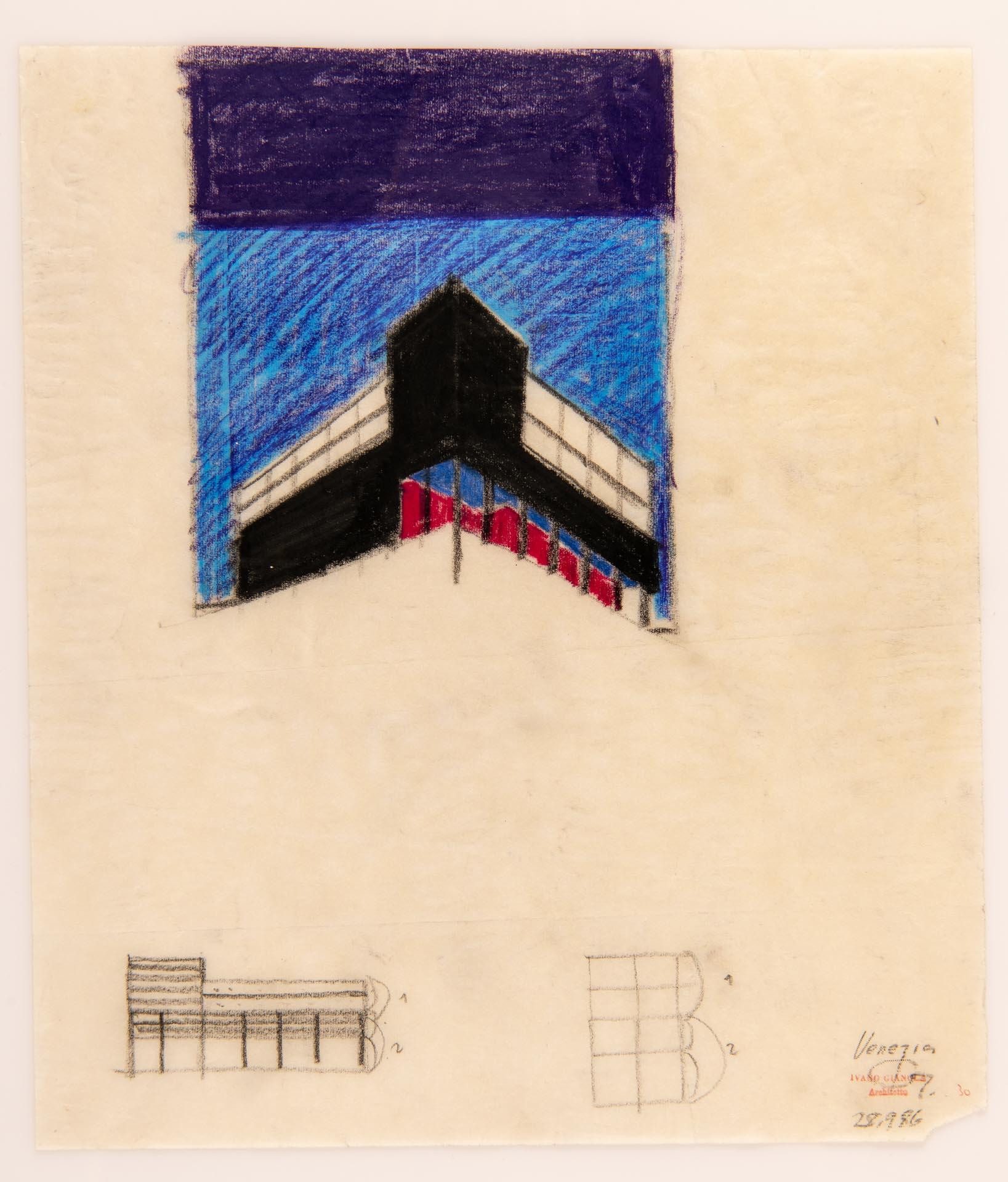 disegno progetto architetto Ivano Gianola
