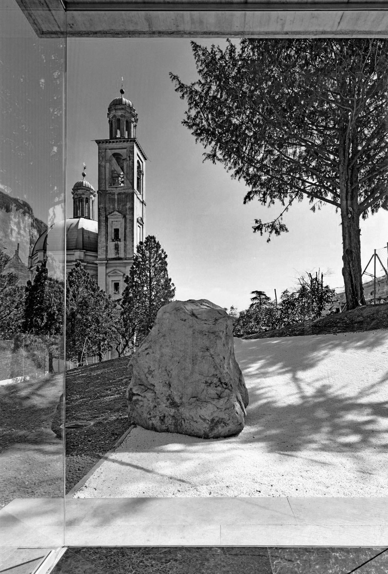 veduta sulla Chiesa da Casa Carrion
