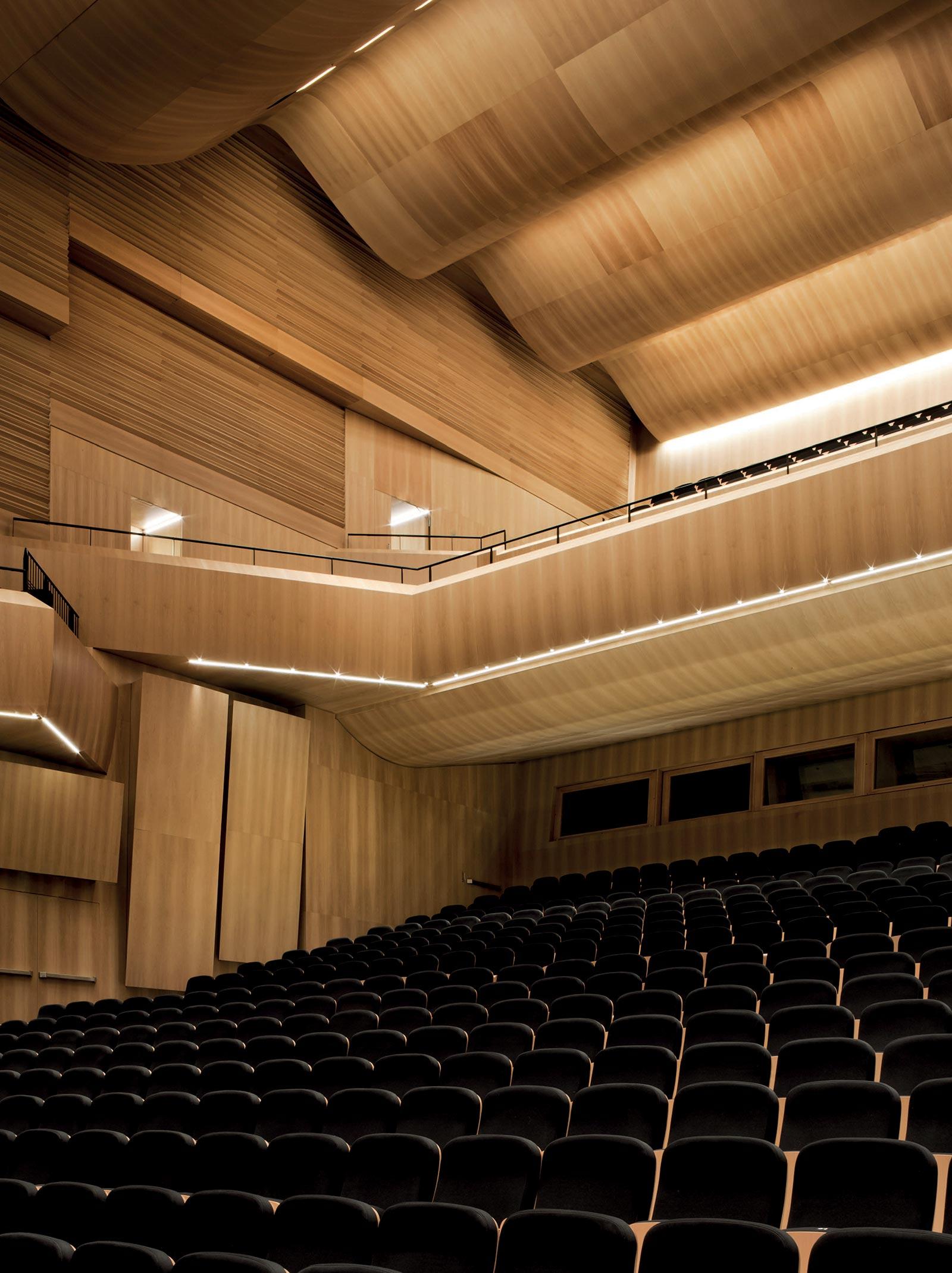 LAC auditorium lavori