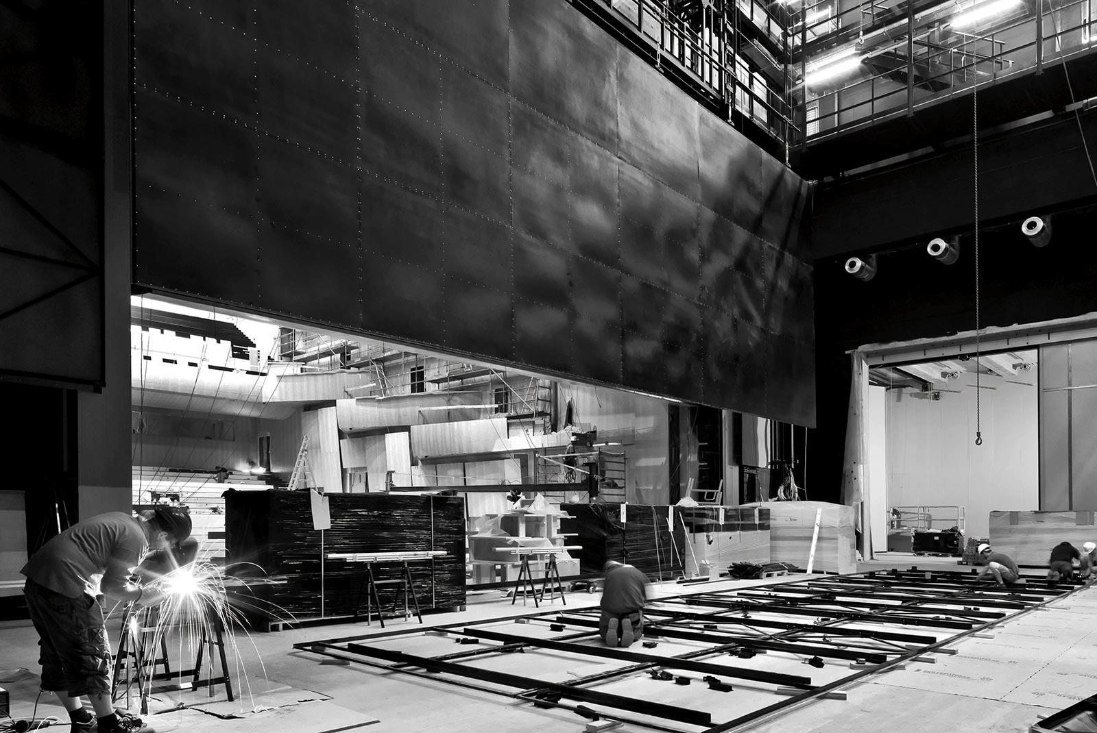costruzione LAC Lugano