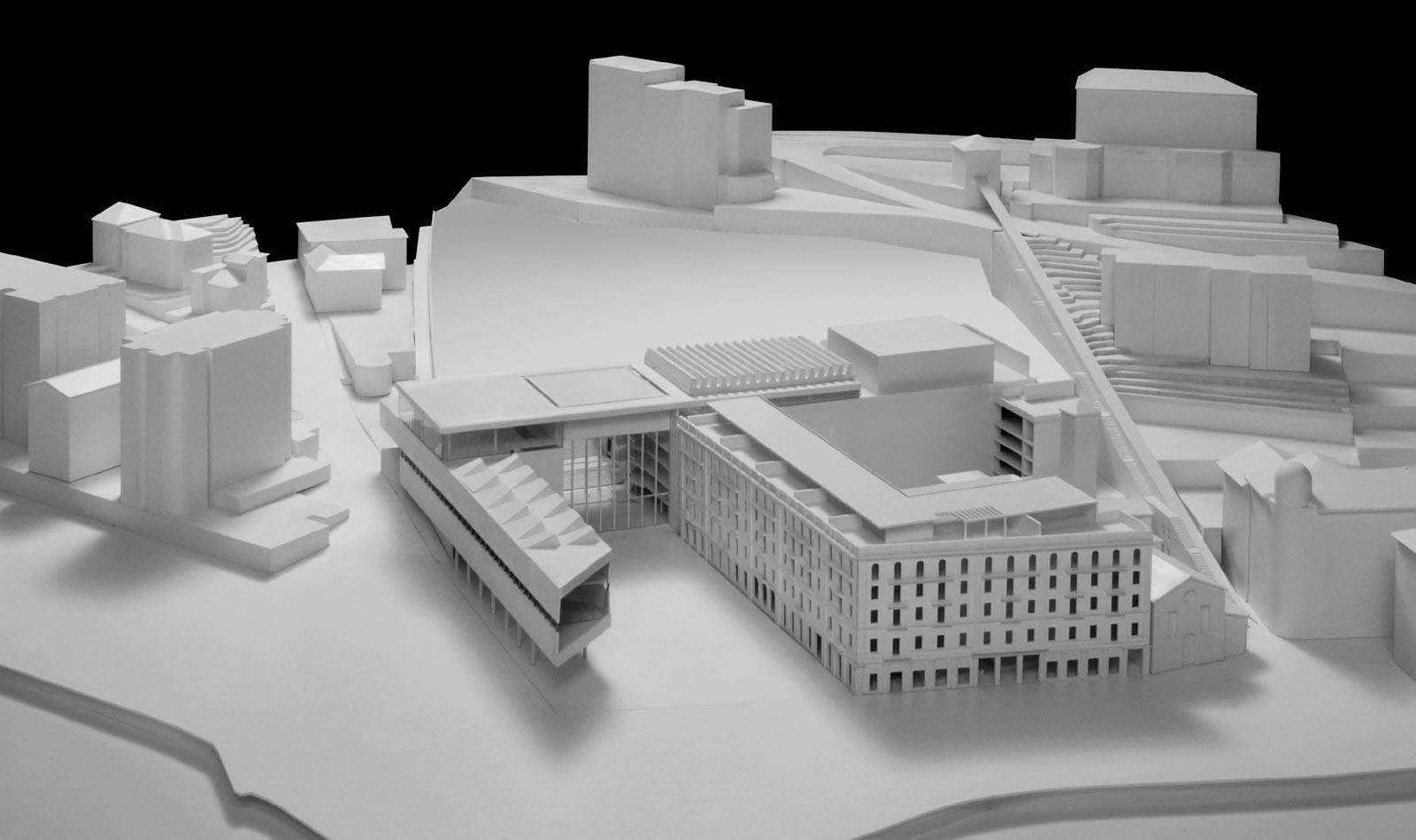 modello LAC Lugano Arte e Cultura progetto Ivano Gianola