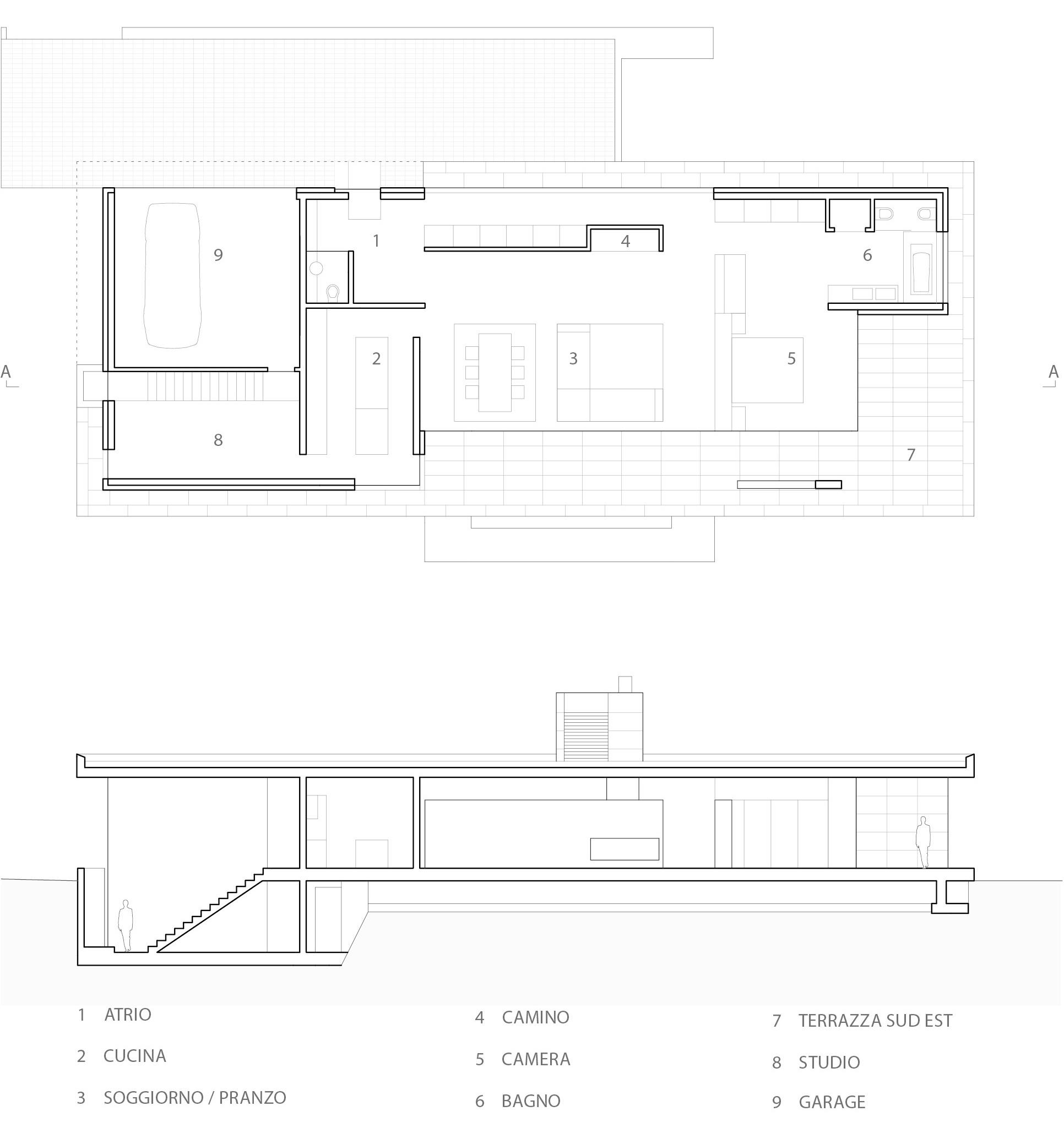 Casa Ostinelli 2008 progetto Architetto Ivano Gianola