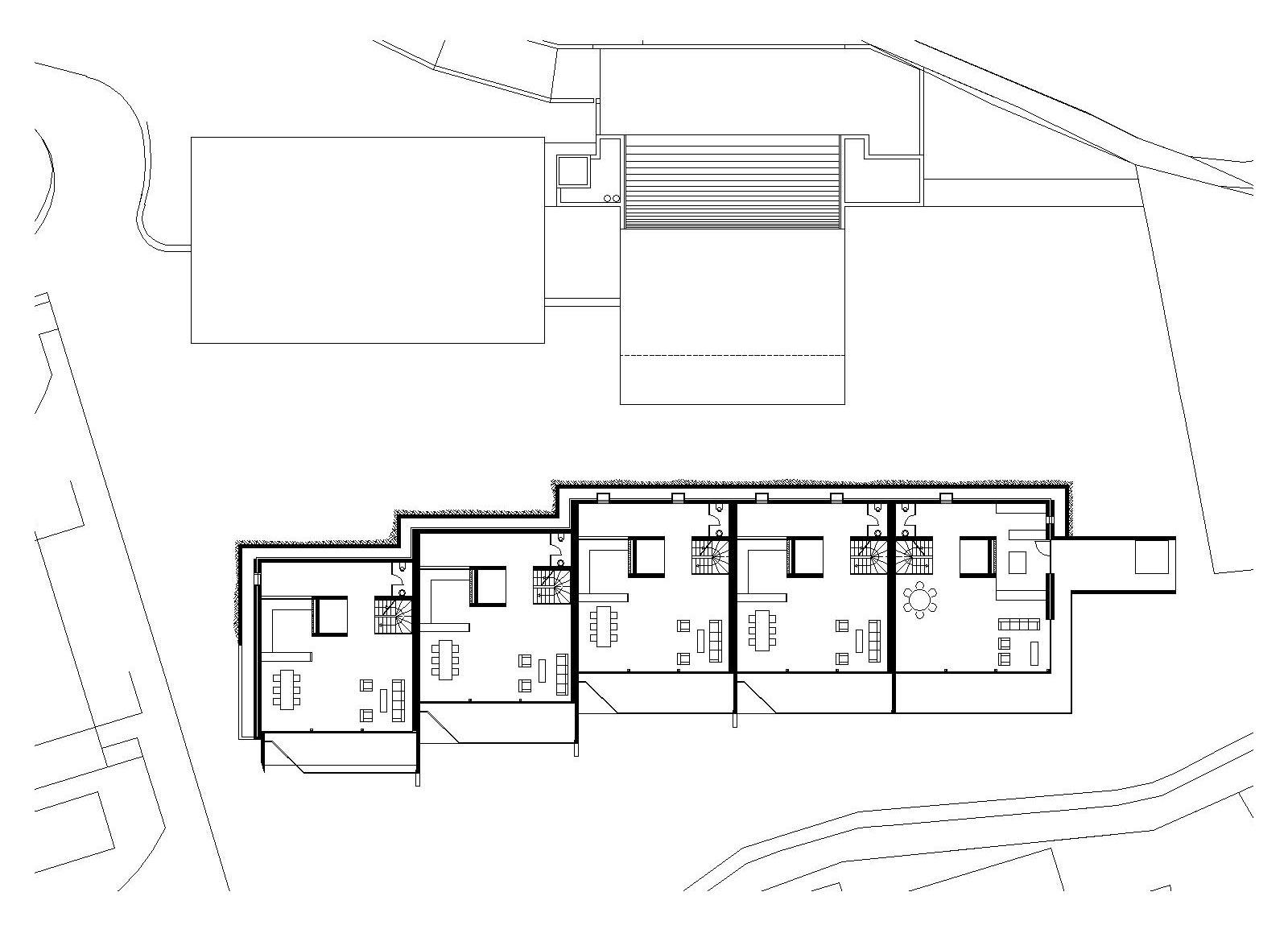 piano progetto residenziale Castagnola
